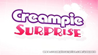 Claire Dames - Creampie Surprise