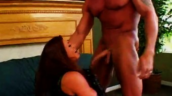 Huge tits redhead loves anal - Shock Wave