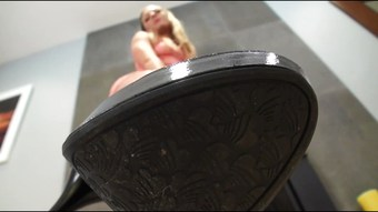 my shoe in your mouth (pov)
