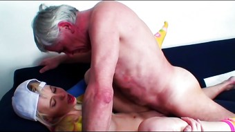 She Loves Old Men-3 ,cut 2 (#grandpa #old man #dad)