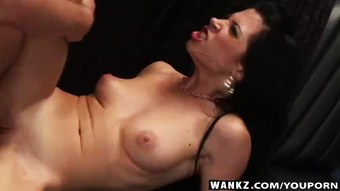 WANKZ- Rebecca Linares Takes Cock Anally
