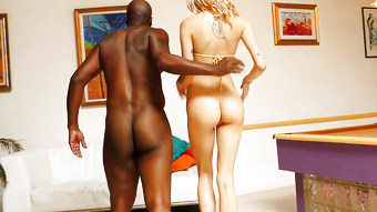 BBC Slut Haley Reed Wants Black Baby