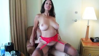 Sexy Busty Wife & Mom Persia See's A Duty Of Fucking Young Virgin Boys!