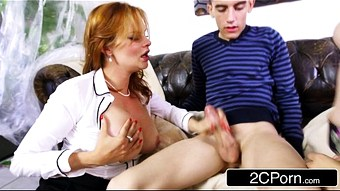Horny Czech Stepmom Teaches Stepdaughter To Get Cock - Leyla Morgan, Tarra White