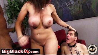 Mature MILF Sara Jay Humiliating Her Cuckold Husband